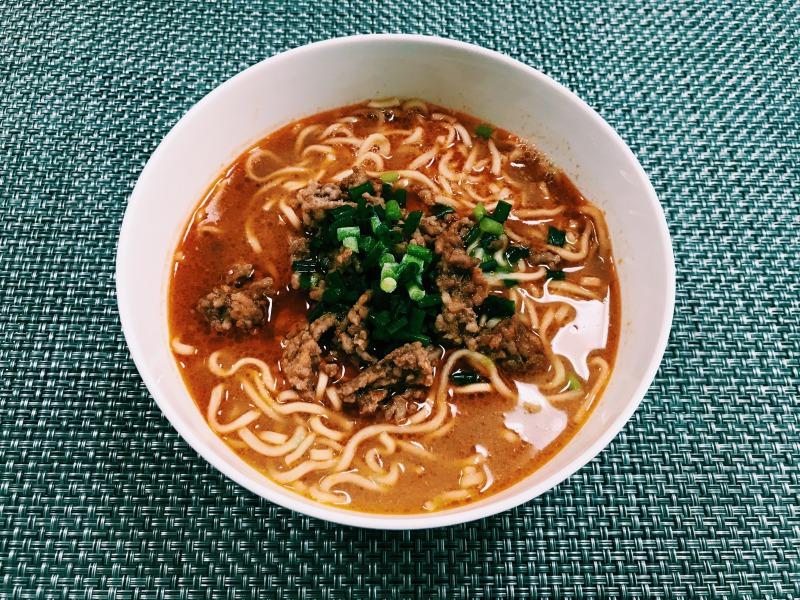 マルちゃん正麺醤油味を使った本格担々麺