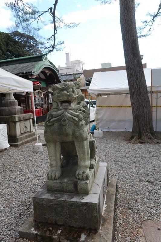石浦神社 狛犬1