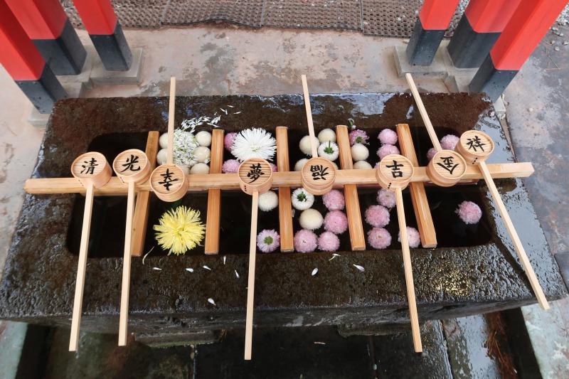 石浦神社 手水舎