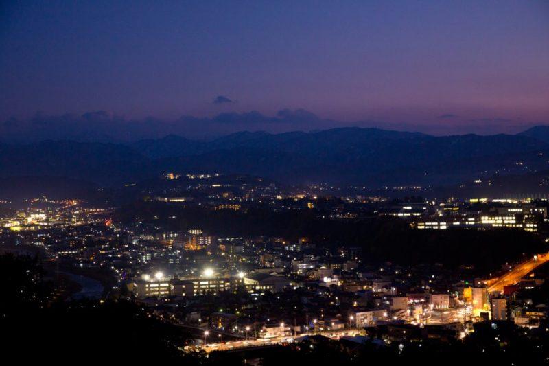 卯辰山公園夜景
