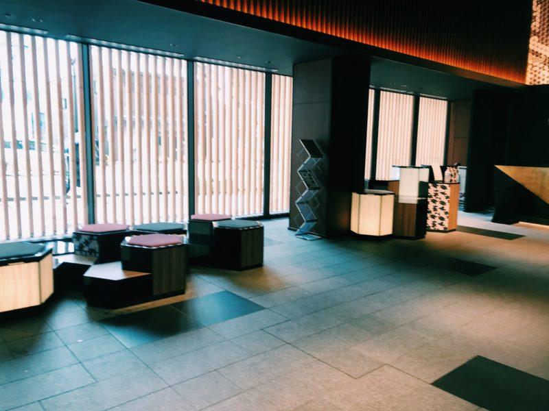 三井ガーデンホテルの内観