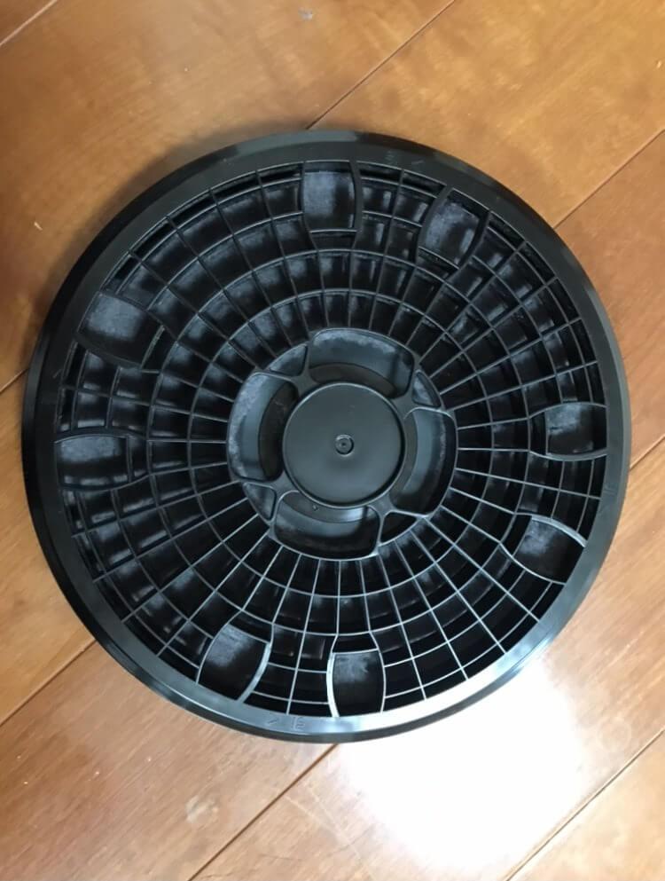 日立の衣類乾燥機のフィルター