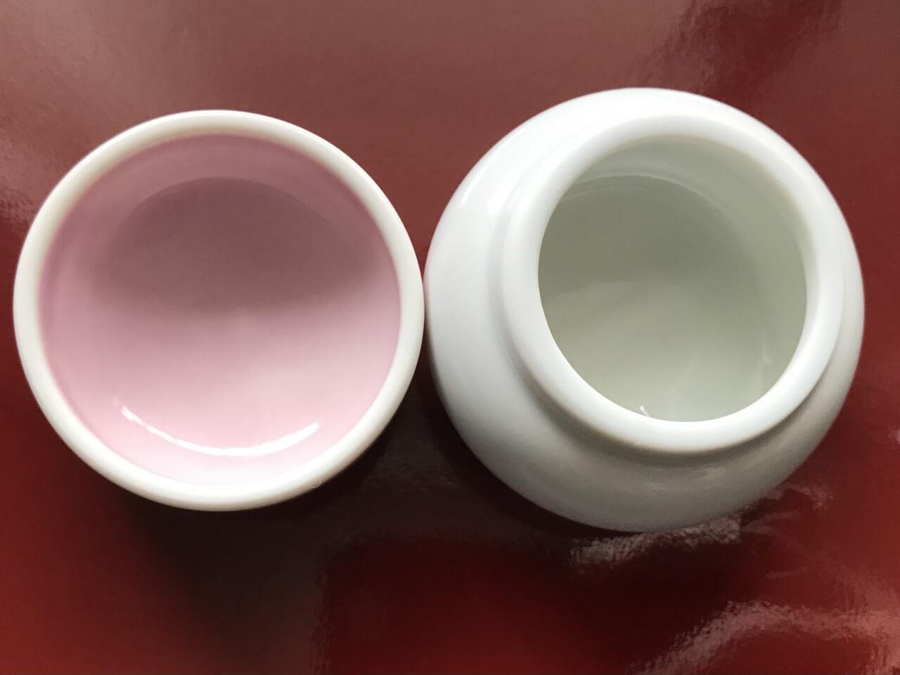 紅白餅小鉢